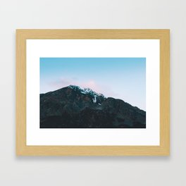 Dawn Mountain - Kenai Fjords National Park Framed Art Print