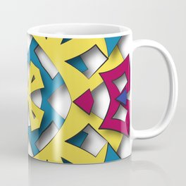 abstract aztec sun Coffee Mug
