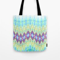 band Tote Bags featuring Diamond Band  by Casey