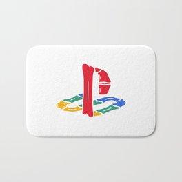 Playstation Bones Bath Mat