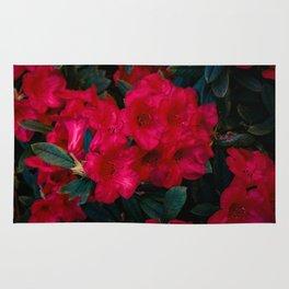 Resplendent Rhododendrons Rug