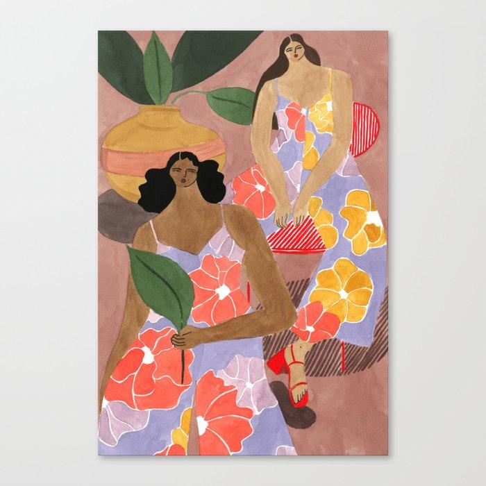 Mister Zimi Jumpsuits Canvas Print