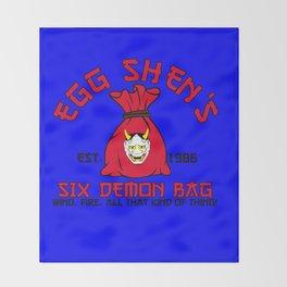 Egg Shen's six demon bag Throw Blanket