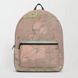 Vintage Map of San Francisco CA (1906) Backpack