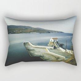 Greek landscape Rectangular Pillow