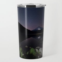 A Trillium Night Travel Mug