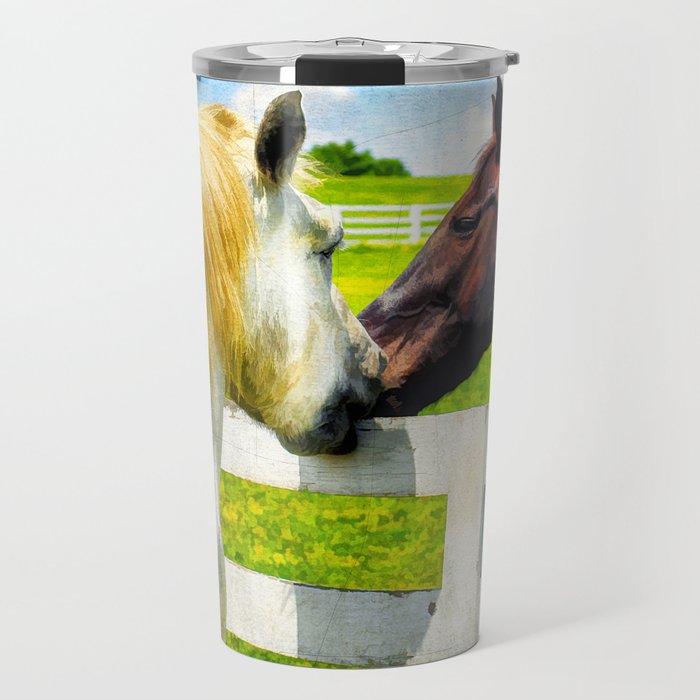 Barn Yard Kisses Travel Mug