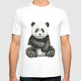 Panda Baby Watercolor T-shirt