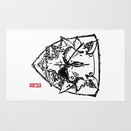 Wolf Shield - Crest Rug