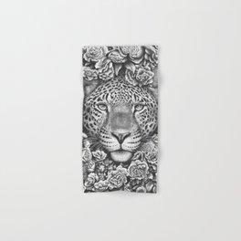 Jaguar in flowers Hand & Bath Towel
