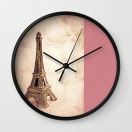 PARIS ~ MON AMOUR Wall Clock