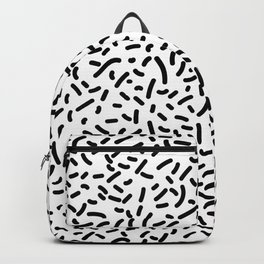 Memphis Candy B&W Backpack