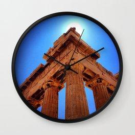 Parthenon - Greece Wall Clock