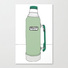 Classic Stanley Thermos Canvas Print
