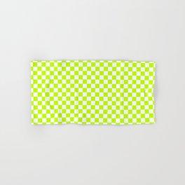 Checker (Lime/White) Hand & Bath Towel