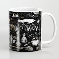 witchcraft Mugs featuring Witchcraft by pakowacz