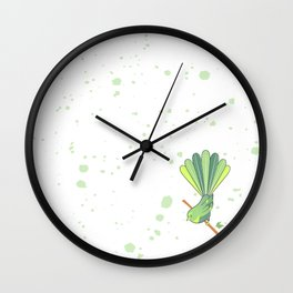 New Zealand Native Birds - Fantail Wall Clock