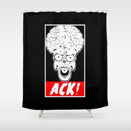ACK! Shower Curtain