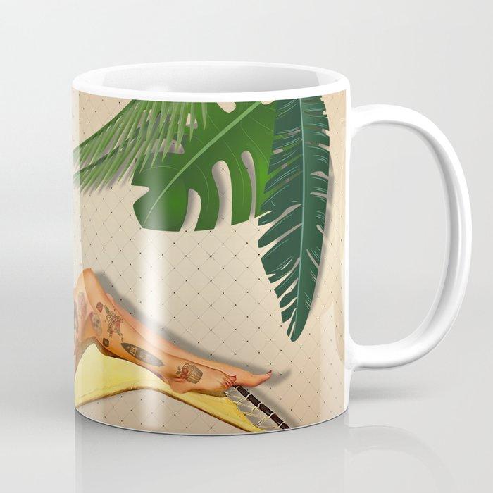 Beach Pin-up Coffee Mug