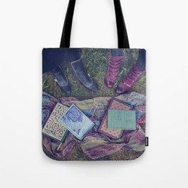 Fairy-Tale Books Tote Bag