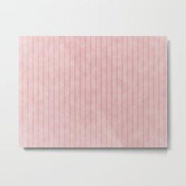 Pale Pastel Pink Metal Print