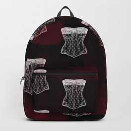 Corset pattern Backpack