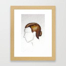 The Waitress Framed Art Print