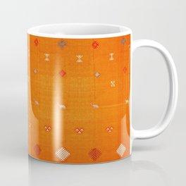 Boho Oriental Orange Traditional Desert Moroccan Style  Coffee Mug