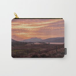 Scotland Ben Nevis mountain at sunrise Carry-All Pouch
