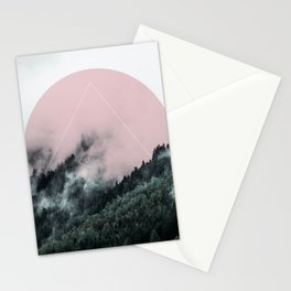 Foggy Woods 2 Stationery Cards