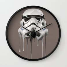 Stormtrooper Melting Wall Clock