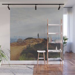 Escape from the City Wall Mural