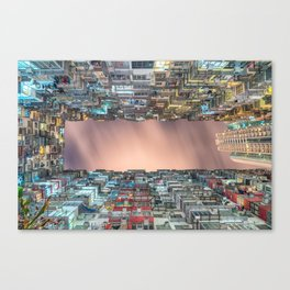 Hong Kong architecture Canvas Print