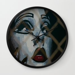 Who's That Girl?  Wall Clock