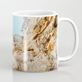 Natural Rock Formations In Lagos, Algarve Portugal, Travel Photo, Large Printable Photography Coffee Mug