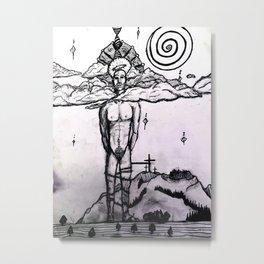 Tied from rejuvenation Metal Print