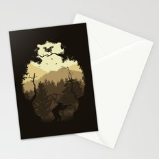 Hunting Season - Brown Stationery Cards