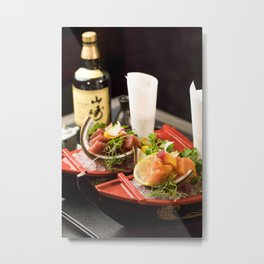 Beautiful Food by Anthony Espinosa Metal Print