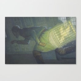 The Golden Bird Canvas Print