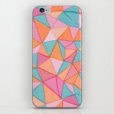 watercolor triangles iPhone & iPod Skin
