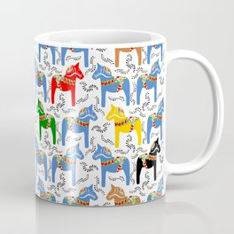 Dala Horse pattern Coffee Mug