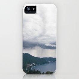 lake como, i iPhone Case