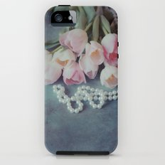 Tulips and Pearls iPhone SE Tough Case