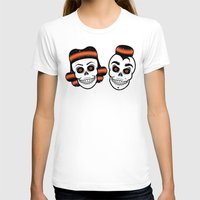 rockabilly T-shirts featuring Spooky Rockabilly Skulls. by Sparganum