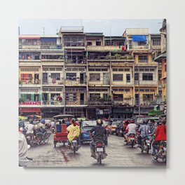 The Phnom Penh Crush Metal Print