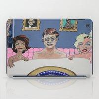jfk iPad Cases featuring JFK by Robert E. Richards