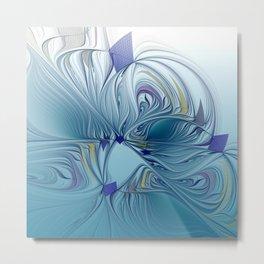 fractal design -120- Metal Print