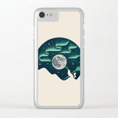 Arctic Tune Clear iPhone Case