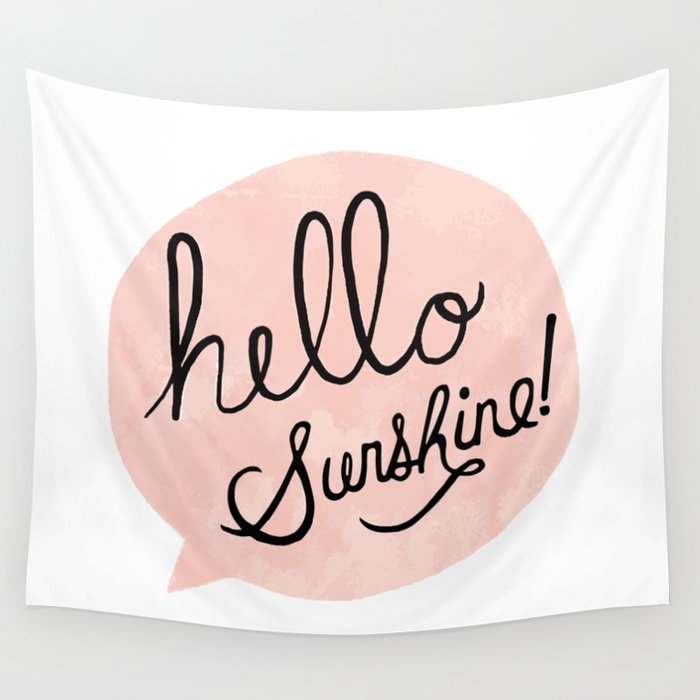 Sunshine Wall Tapestry
