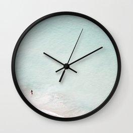 The Black Bikini Wall Clock